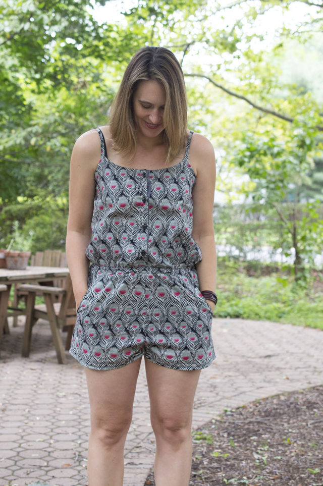 Sanibel Romber in Liberty (Easy Pattern Hack) | a happy stitch