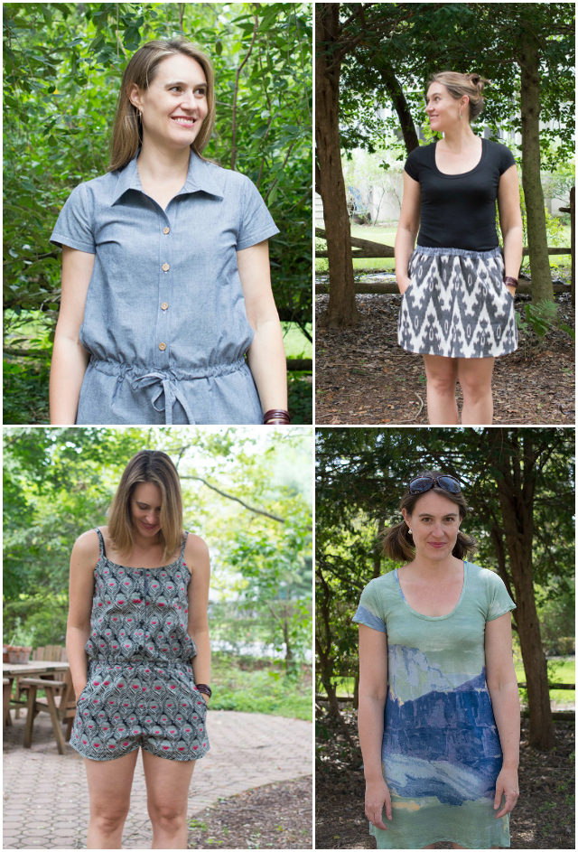 Thoughts on a Handmade Summer Wardrobe || a happy stitch