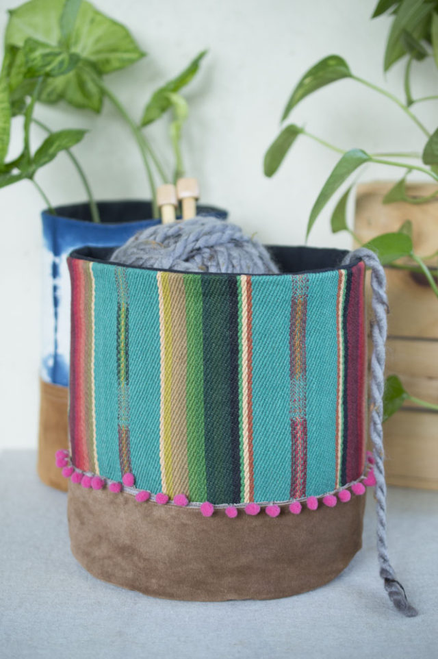 Other Reasons to Sell at a Craft Market! Connections and Creative Fire :: Playful Fabric Buckets by a happy stitch