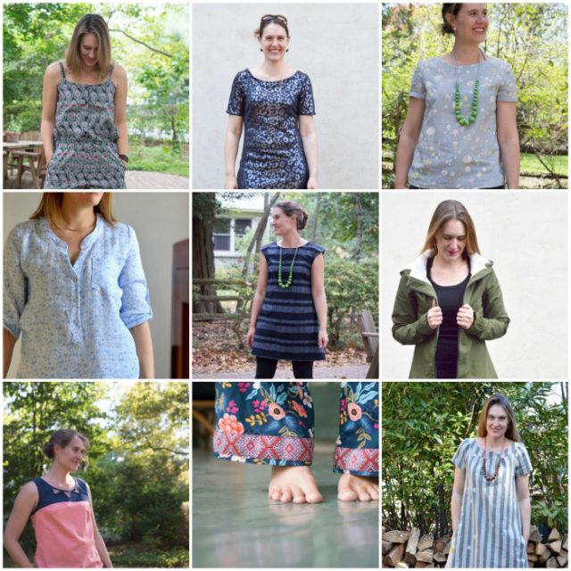 Look At You 2016! Handmade Clothing of 2016 by A Happy Stitch
