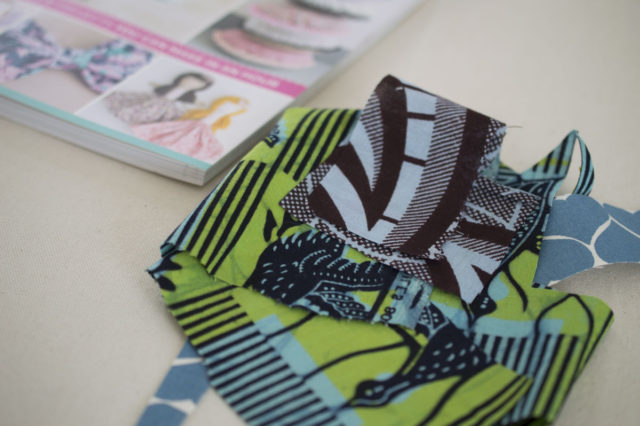 All You Need Is Love Table Setting in Ghanian Textiles_ See Kate Sew Book Review // A Happy Stitch