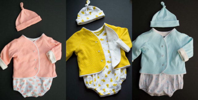 Perfect Baby Layette | sewn by a happy stitch