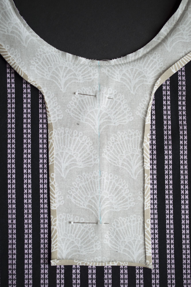 Trevi Top with Yoke Tutorial from A Happy Stitch