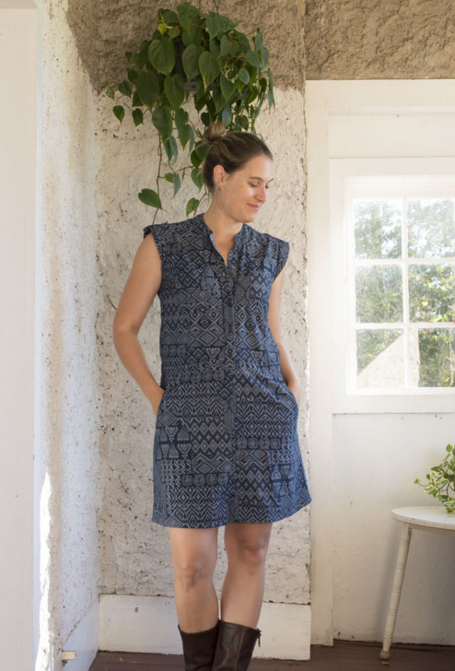 Sanibel Dress Pattern Hack: Transforming a not-so-great dress into a wardrobe staple! || A HAPPY STITCH