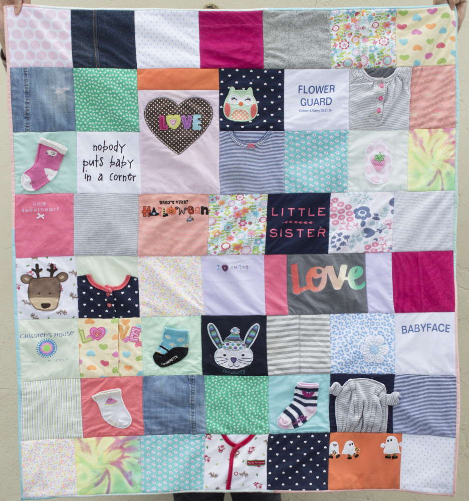 Sew It Yourself Baby Clothes Quilt A Happy Stitch