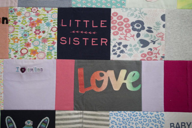 Sew It Yourself :: Baby Clothes Quilt || A Happy Stitch