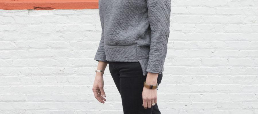 DIY :: Quilted Sweatshirt