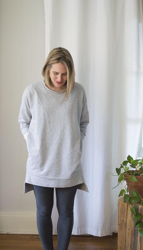 Ensemble Patterns Sunday Everyday Sweatshirt