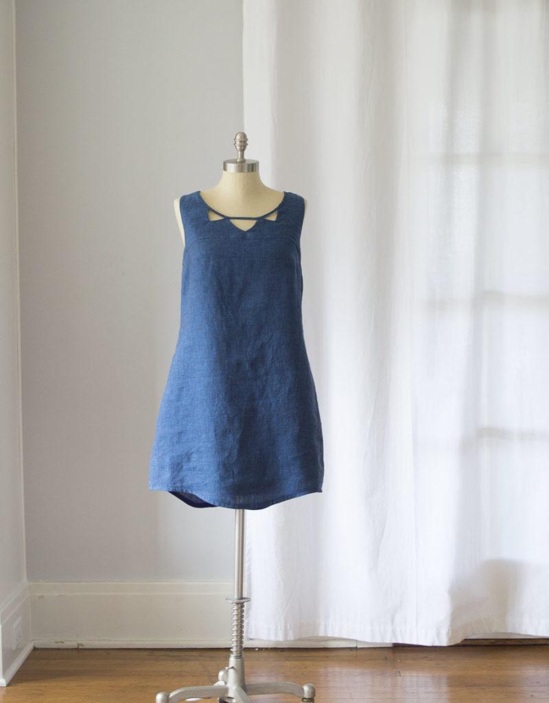 Linen Datura Dress