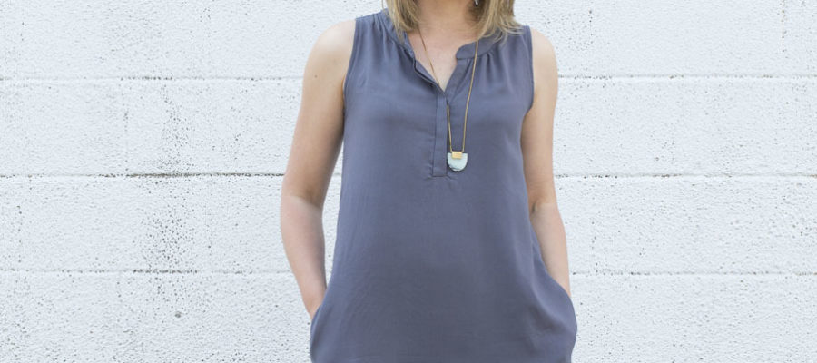 Biscayne Pattern Hack :: From Top to Tunic
