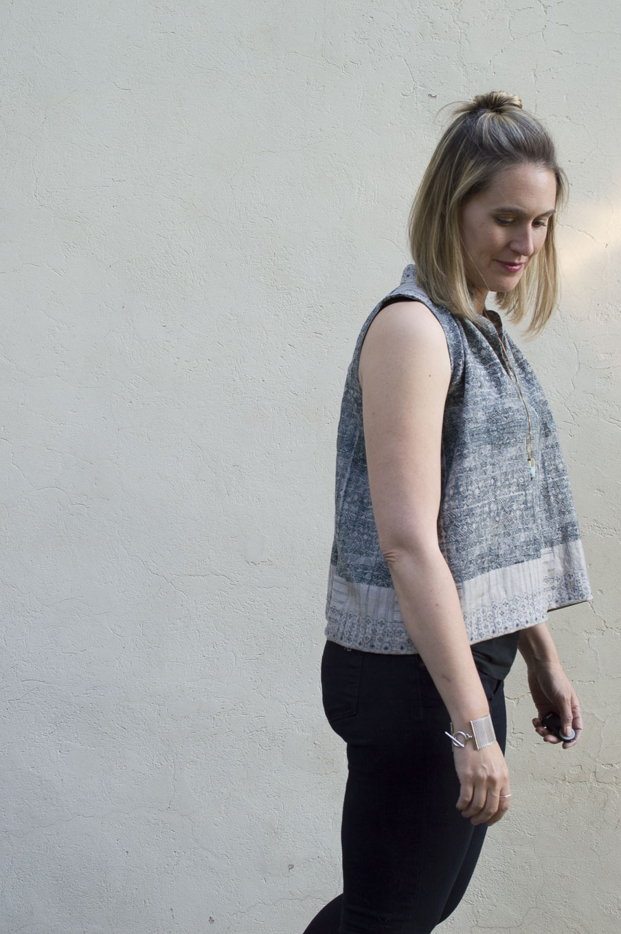 Matcha Top -Pattern by Sew Liberated-Sewn by Melissa Quaal __ A ...
