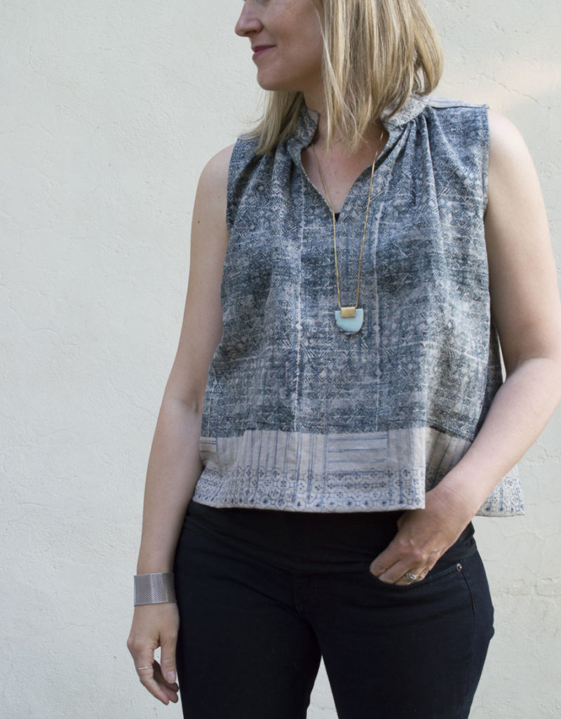 Matcha Tops :: In Linen and Rayon