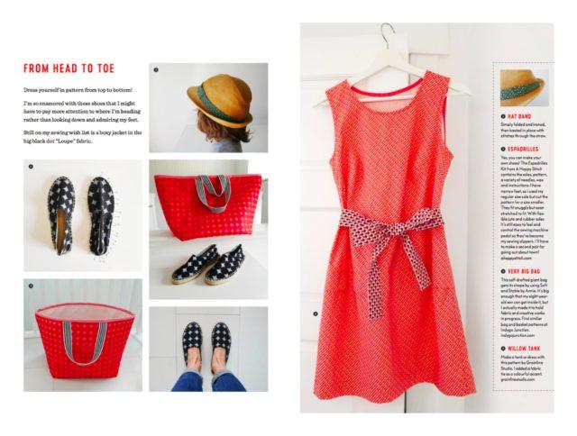 DIY Espadrilles in Uppercase Fabric