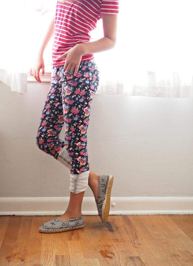 THE ESPADRILLES KIT BLOG TOUR -MAKE your own espadrille shoes