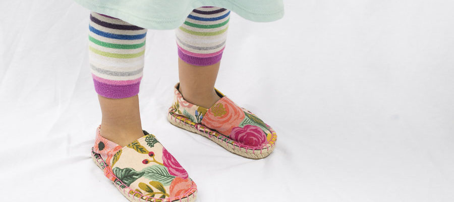 Espadrille Kits for Kids (even Toddlers!)
