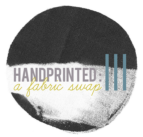 handprinting fabric swap