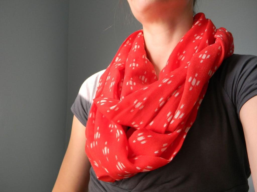 ikat scarf