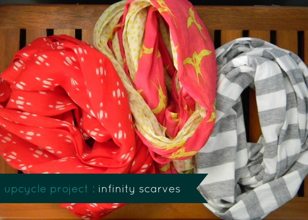 upcycle project scarves