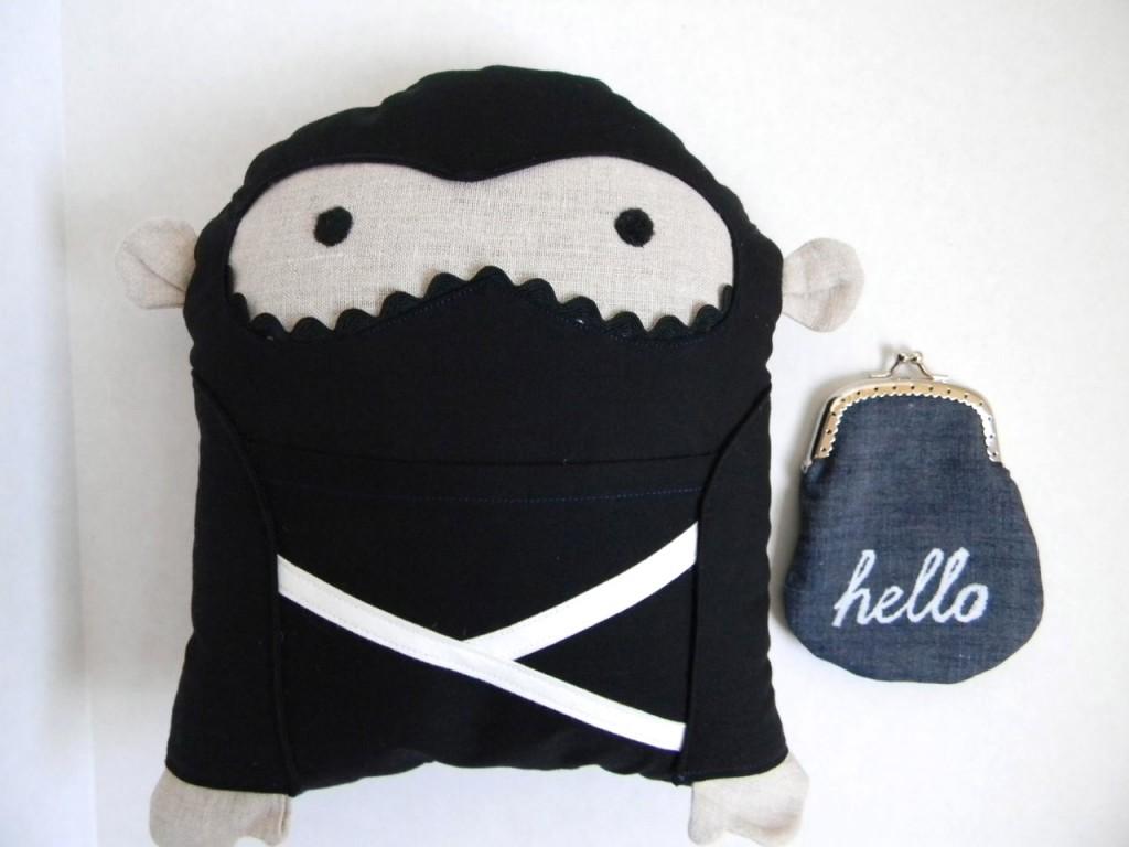 ninja says hello