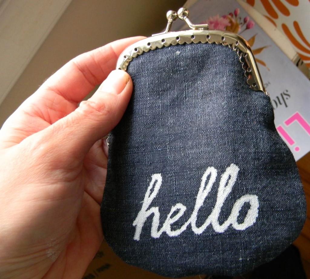 hello coin purse