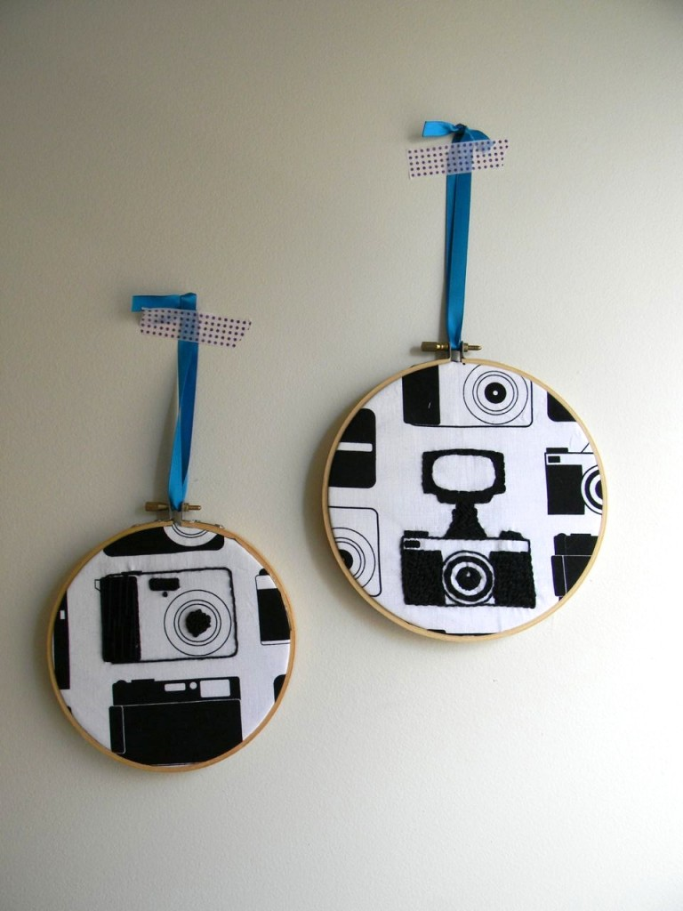 camera embrodiery