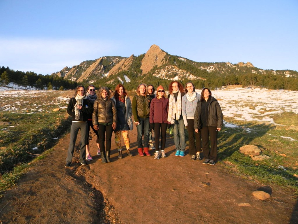flatiron hike at the makerie
