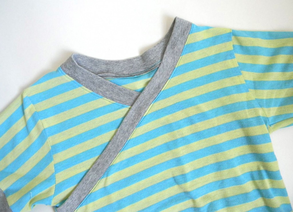 pajama top stripes