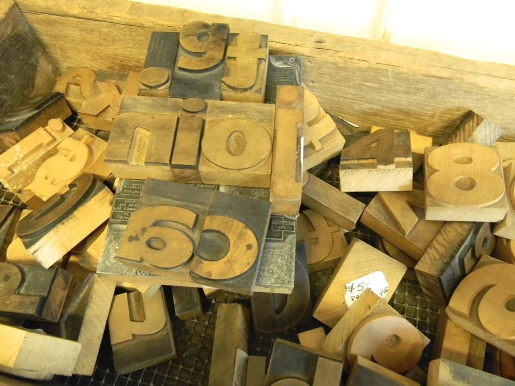 typeset letters