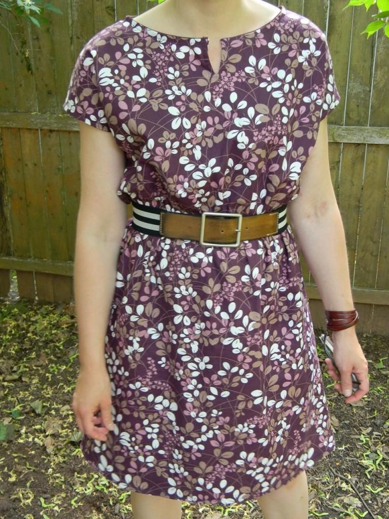 staple dress with belt