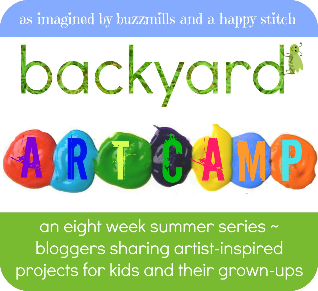 backyard art camp 2013