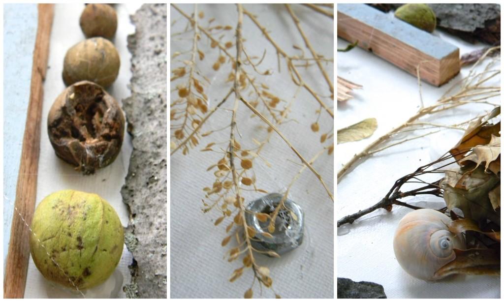 bakcyard art camp found object art detail