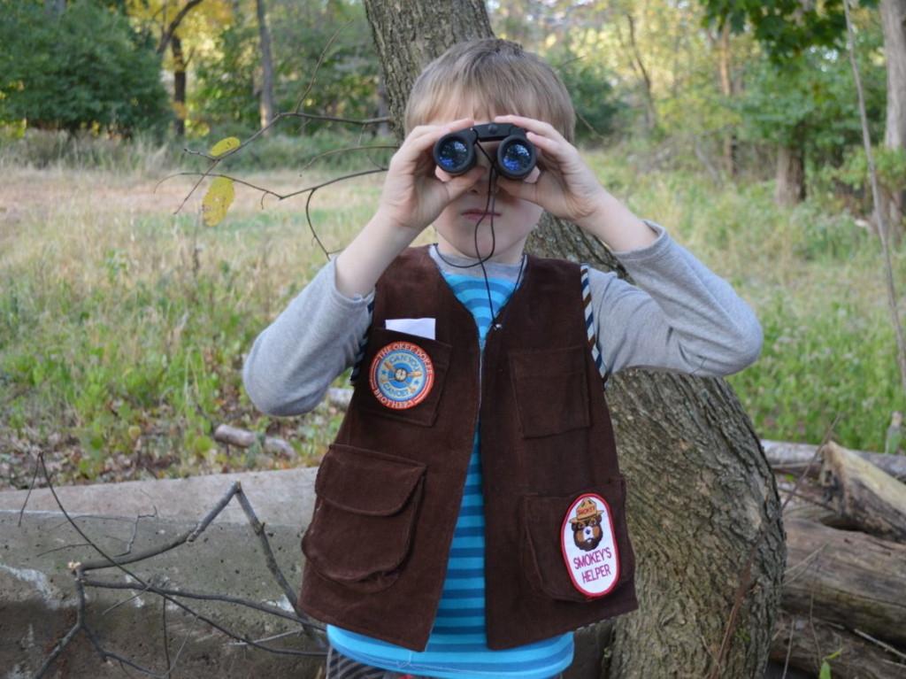 explorer vest in action