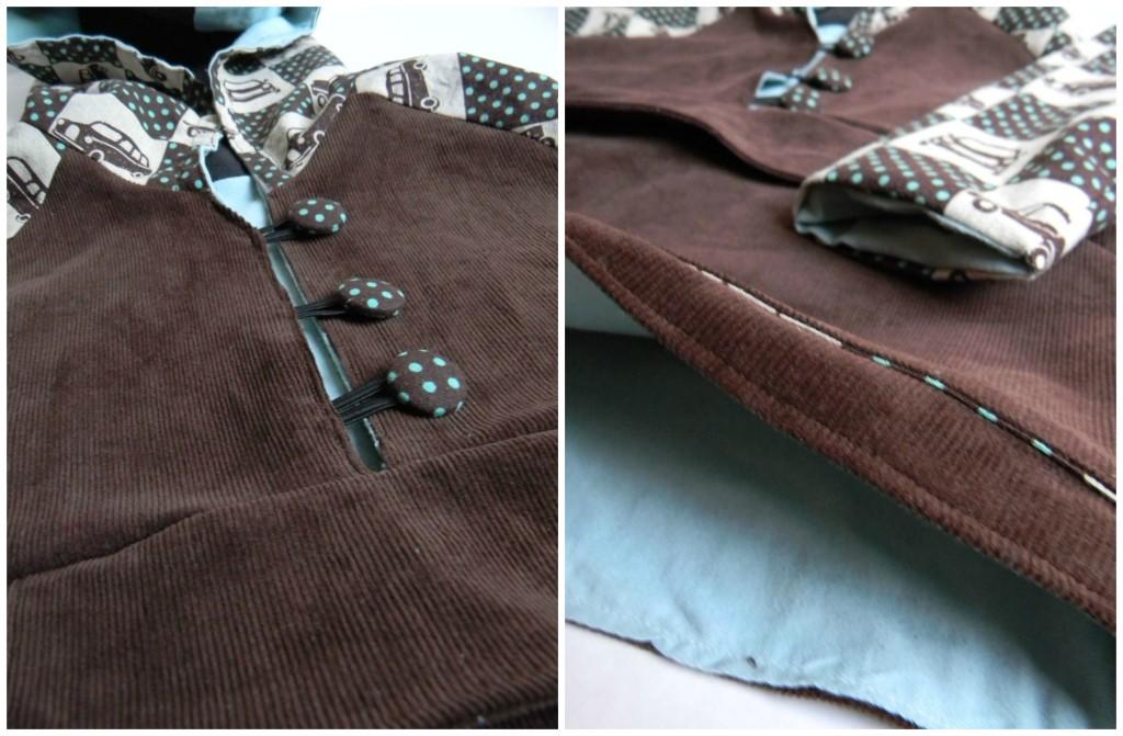 luka hoodie details