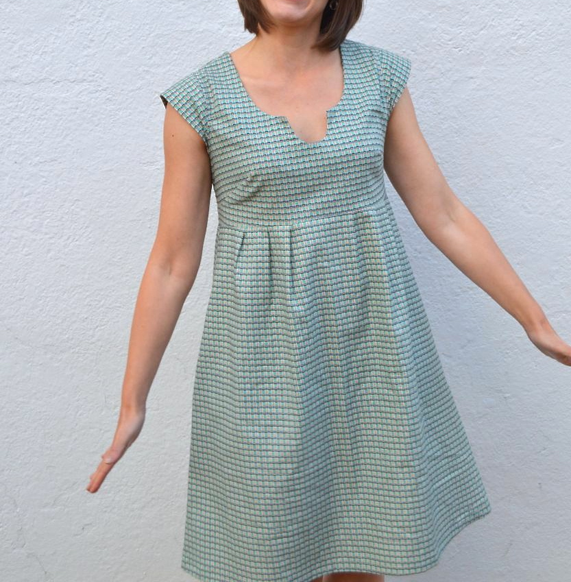 washi dress in denise schmidt