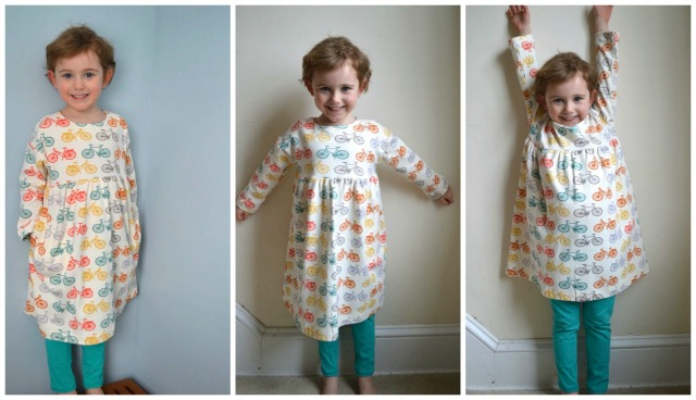 playtime dress and leggings from a happy stitch