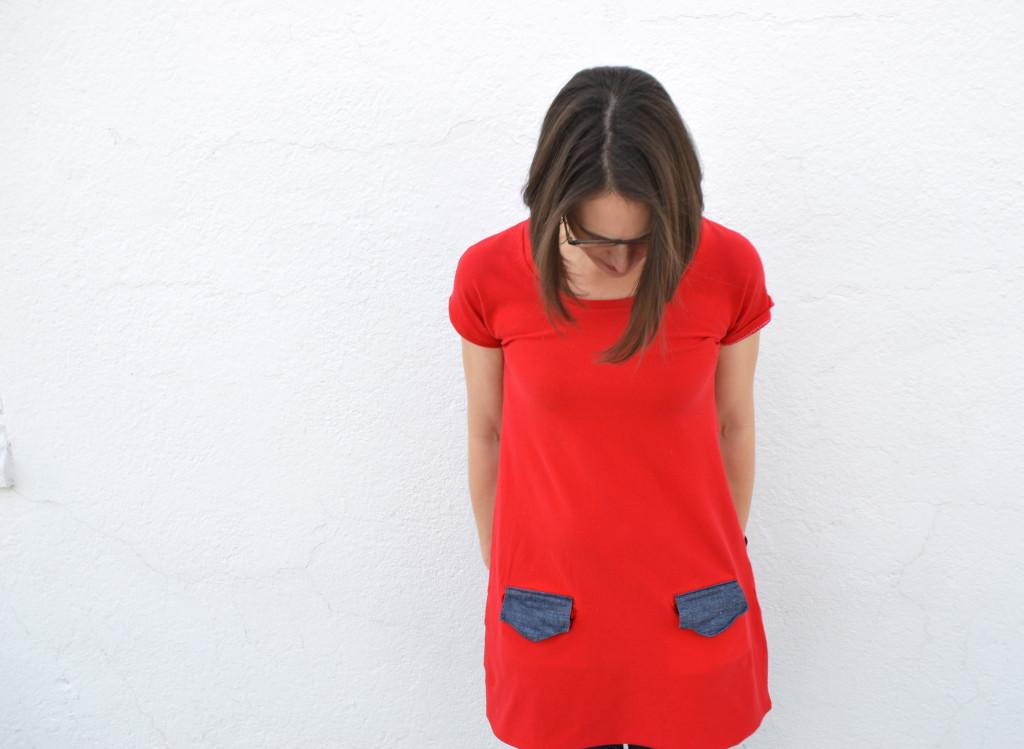 the tennis dress from skirt as top