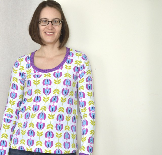 the plantain tee - free pattern from deer & doe