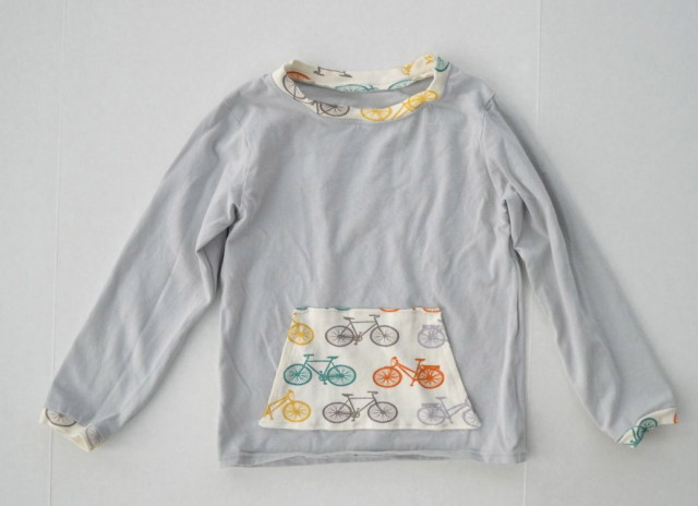 cupcake tee from the Sew Fab Pattern bundle