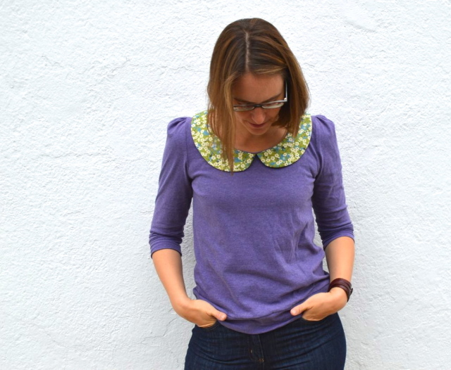 the parisian top | part of Selfish Sewing Week made by a happy stitch