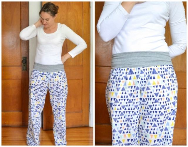 Lounge Set | tank and breezy pants in voile made by a happy stitch