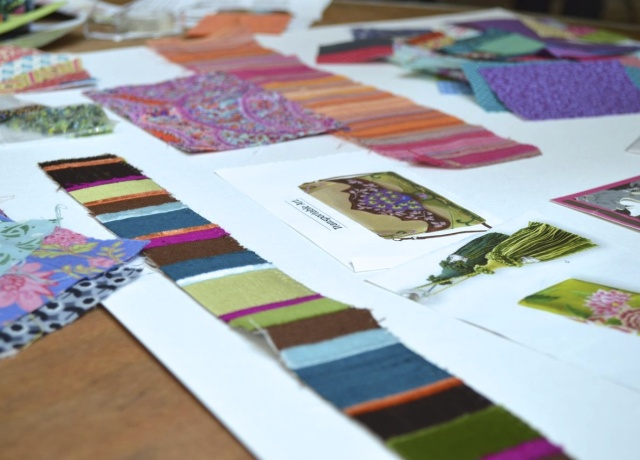 My Unique Color Story Workshop with Amy Butler | a story of creative replenishment from A Happy Stitch