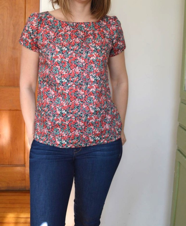 The Sailor Top | a happy stitch