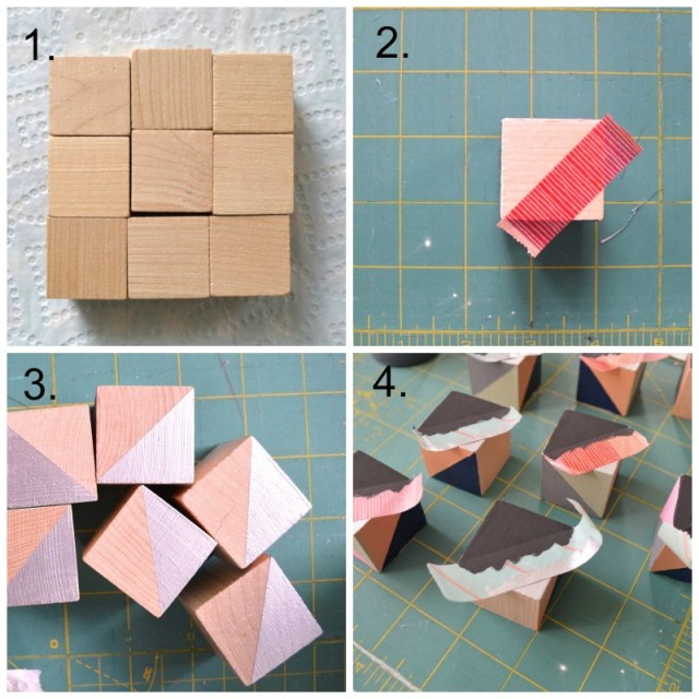Wooden Quilt Blocks  toys for grown ups who quilt (step by step)