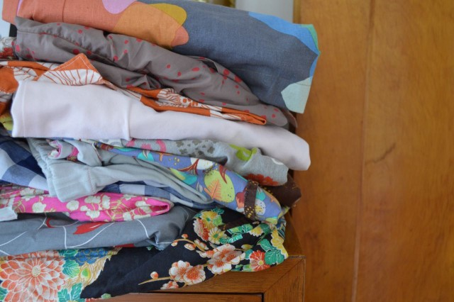 the nothing new project - used, handmade and swapped wardrobe