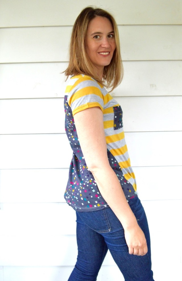 Upcycled Viole and Knit Anthro Knock-off Top