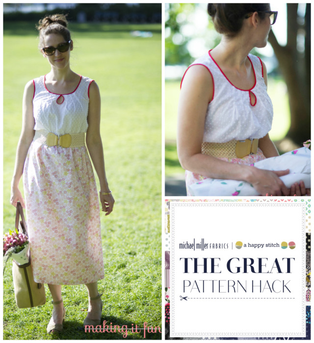 Great Pattern Hack - Kait from Michael Miller Fabrics