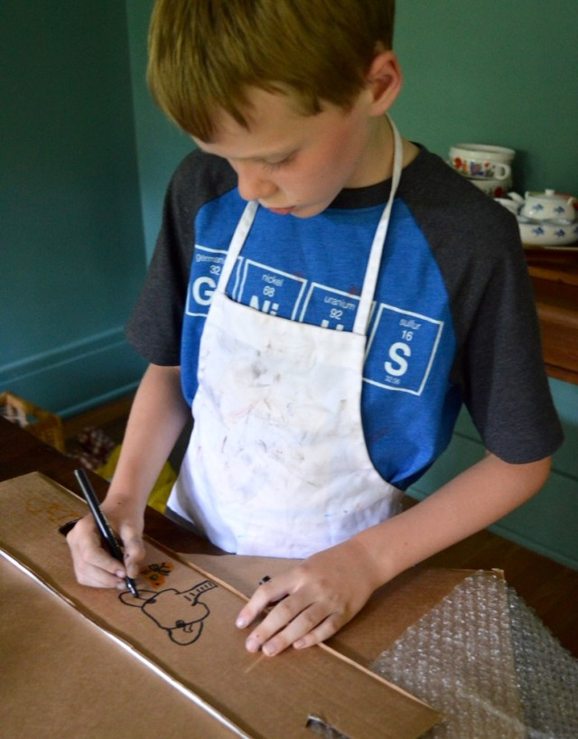 Nurturing Creativity with Child-Led Art Projects
