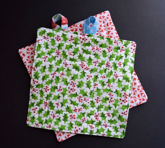 Christmas Stitches in Festive Fabric