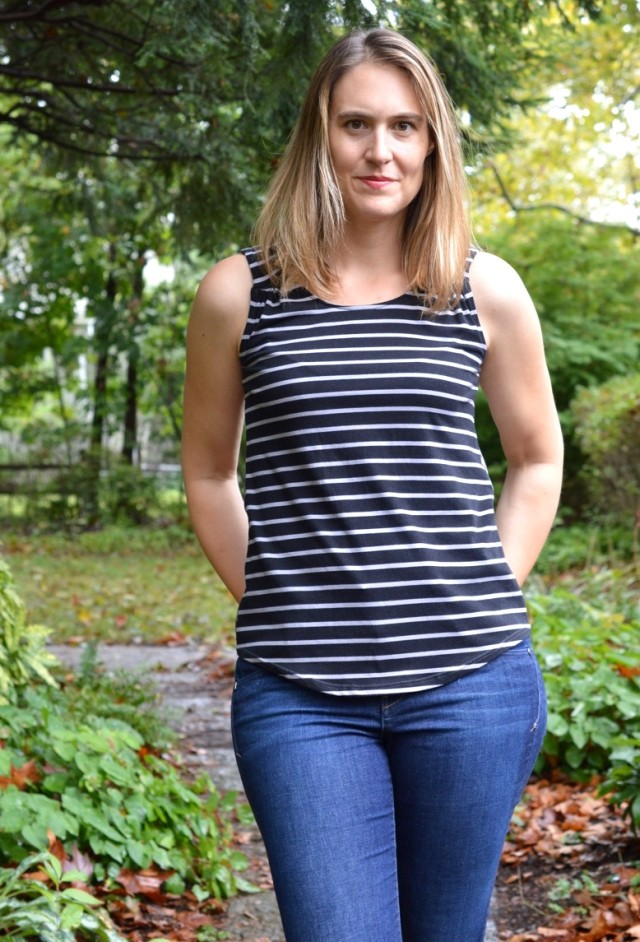 Aurora Tank from Seamwork