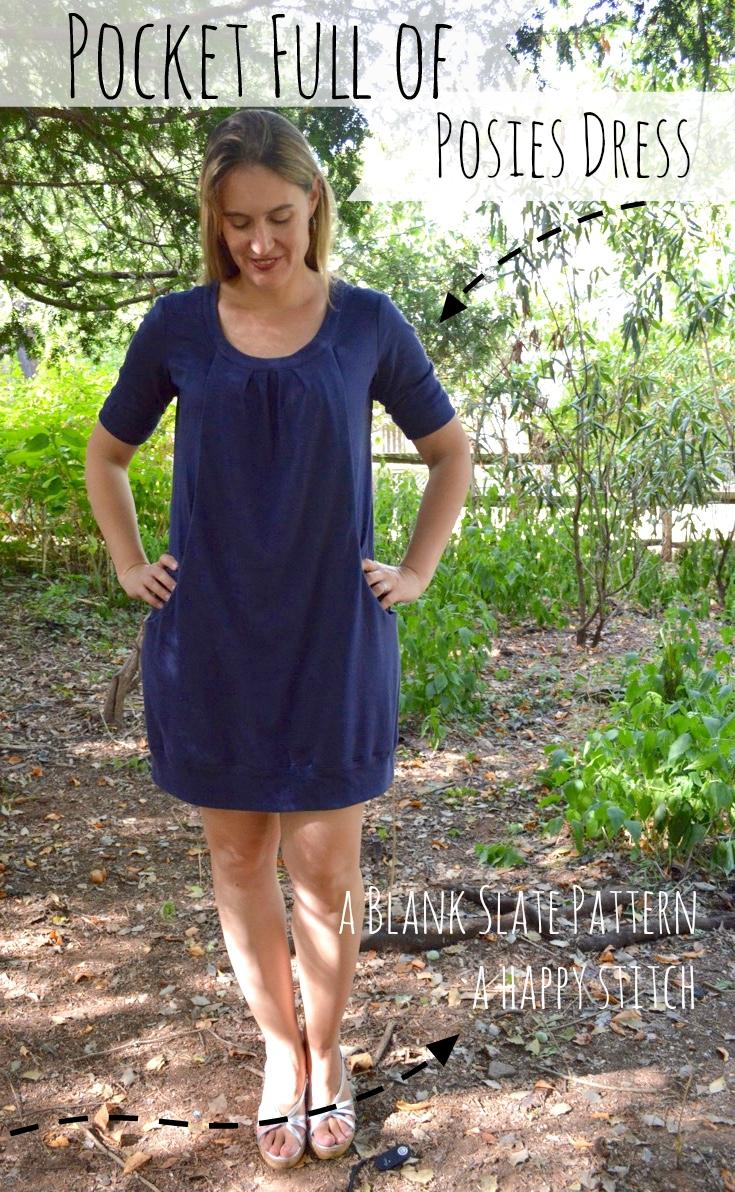 Pocket Full of Posies Dress - Blank Slate Sewing Team